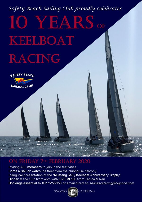 10 years of Keelboat Sailing 7th Feb 2020 RS