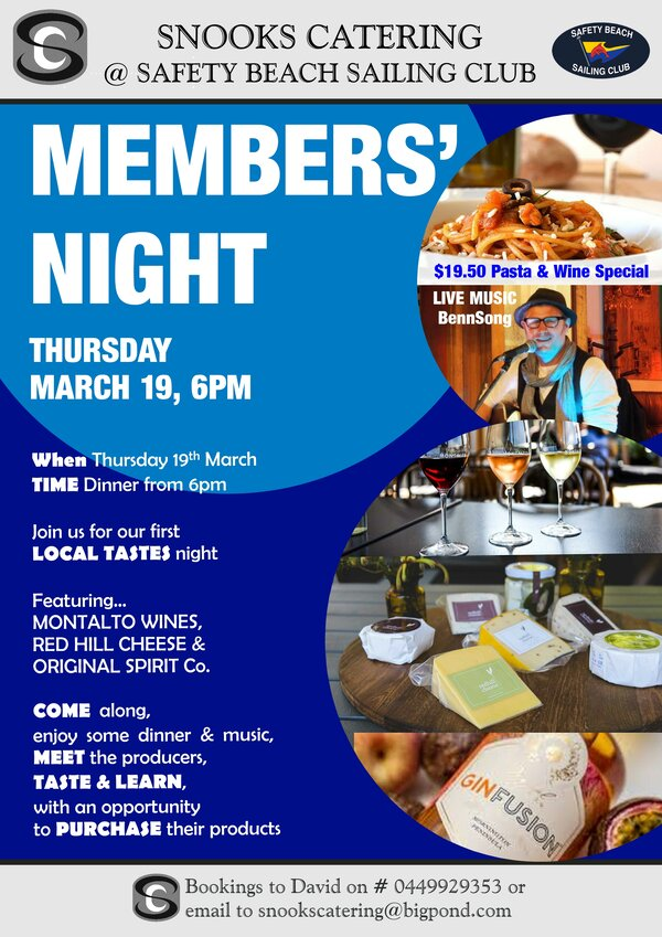Member Night 19th March 2020rs