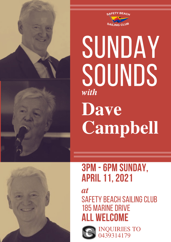 DAVE CAMPBELL SUNDAY SOUNDS POSTER png