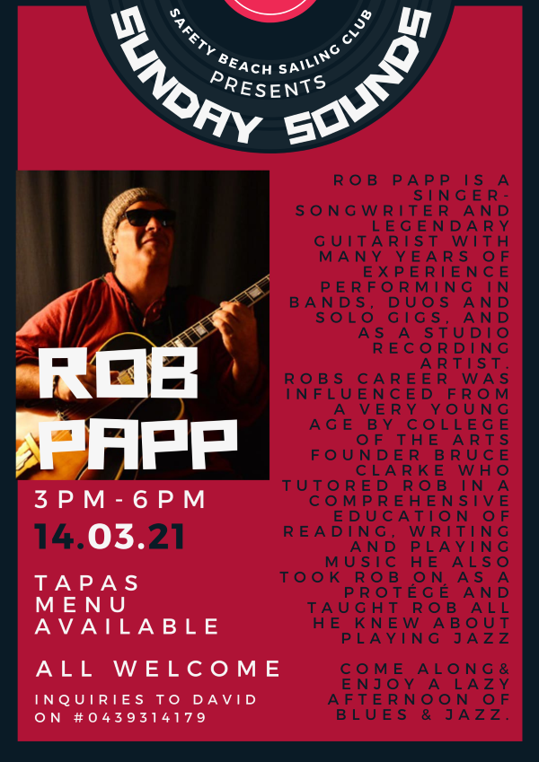 ROB PAPP POSTER