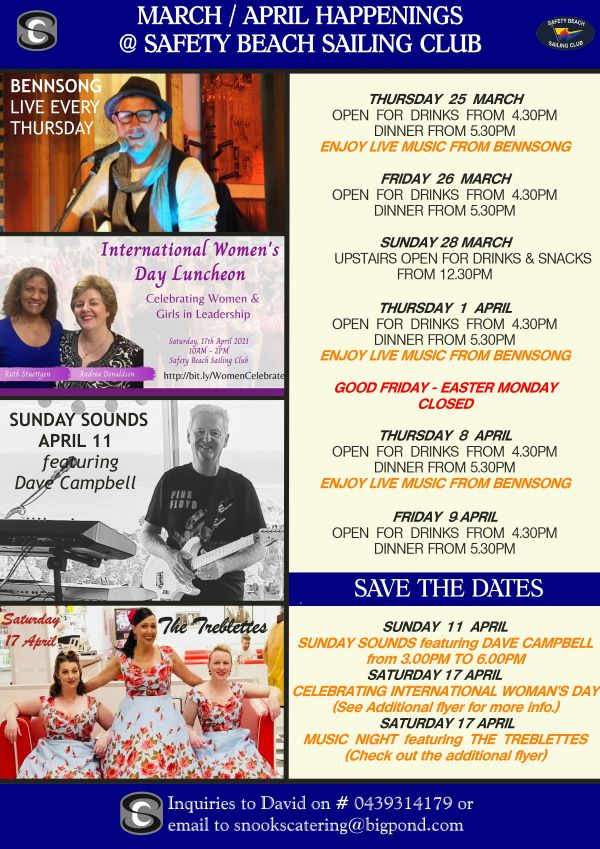 Snooks Catering E News March April 2021 Happenings at SBSC v23 03