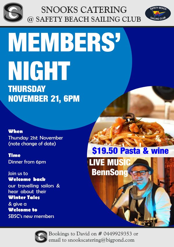 Member Night 21st November 2019RS