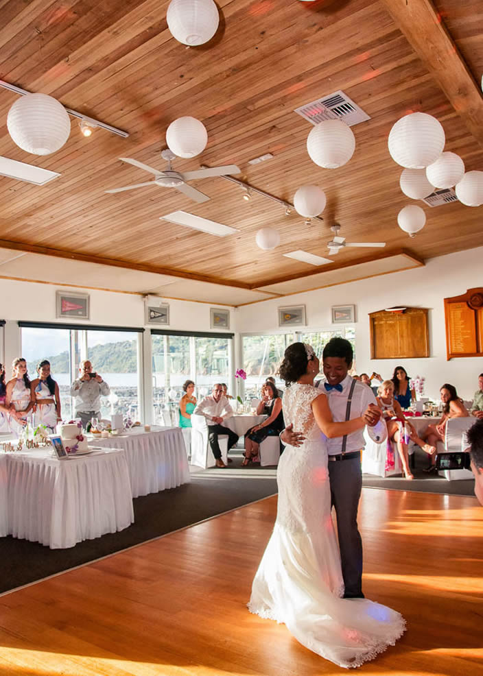 weddings at safety beach sailing club